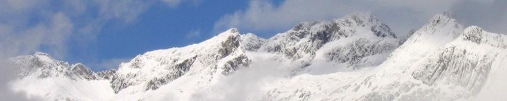 Panorama Schneeberge